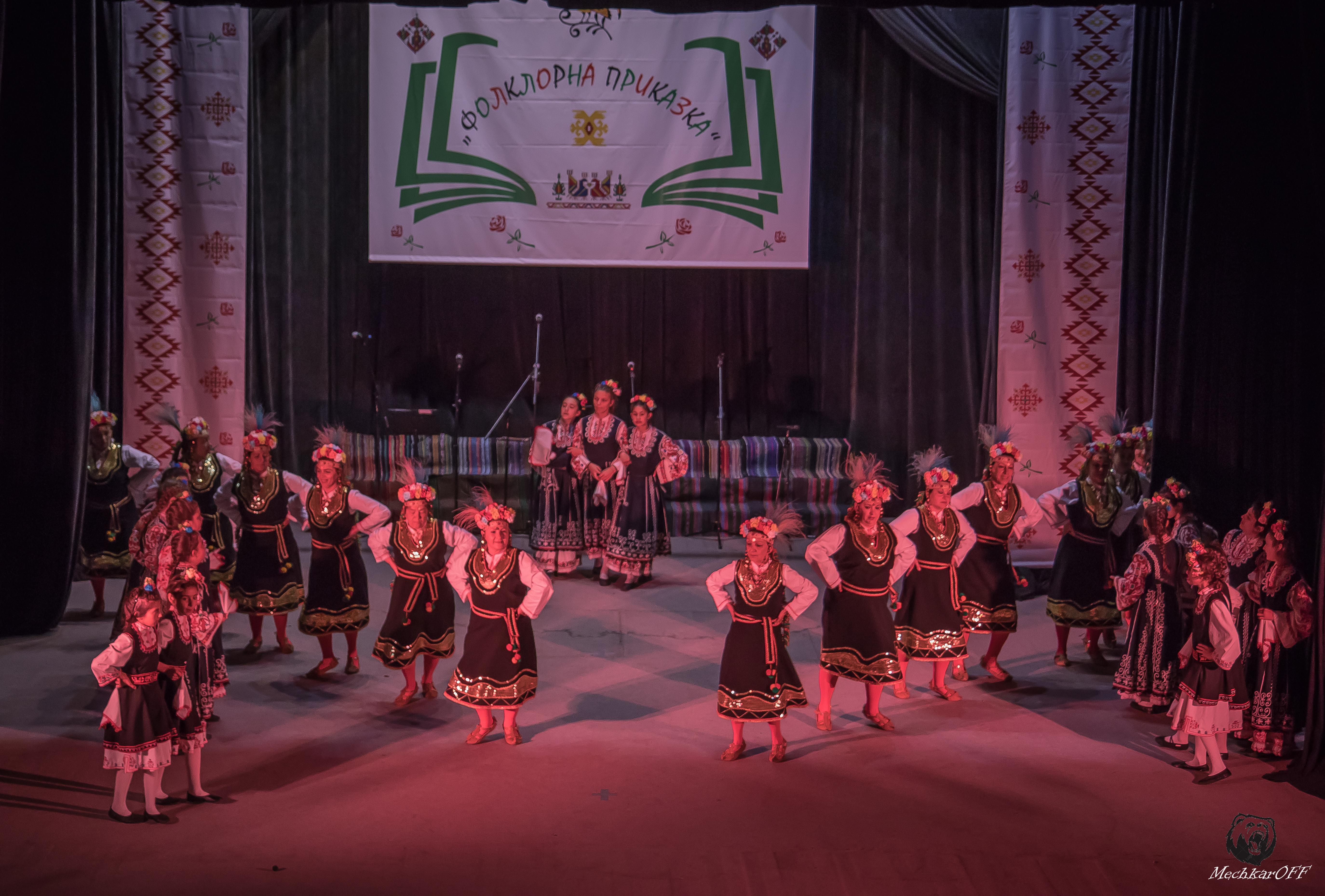 Zhenski tantsov sastav Srednogorki-1