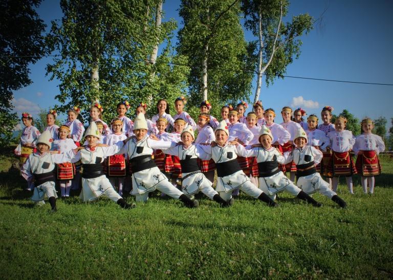 Detski tantsov sastav Srednogorche-1