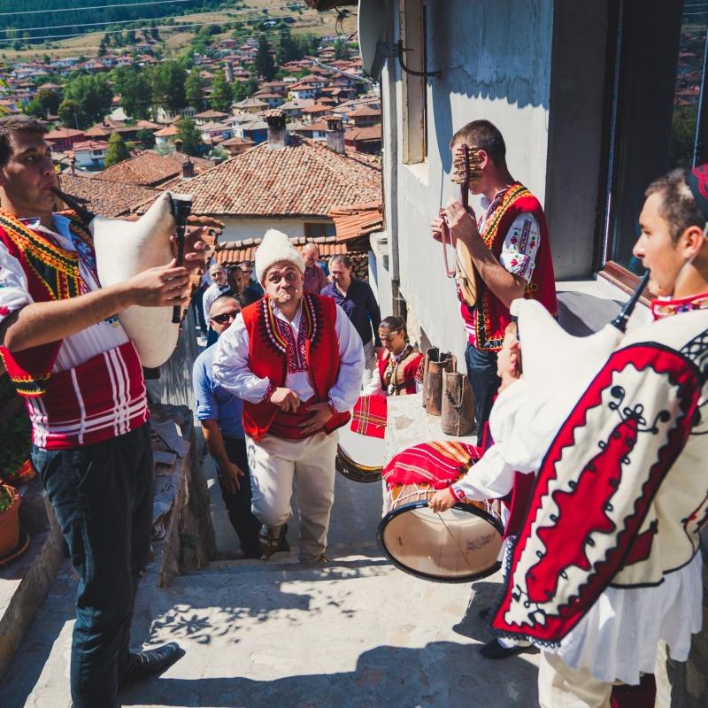 Svatba s folklorna programa ot Srednogortsi-97