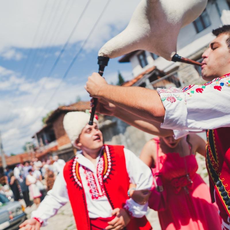 Svatba s folklorna programa ot Srednogortsi-95
