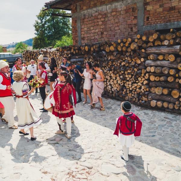 Svatba s folklorna programa ot Srednogortsi-94